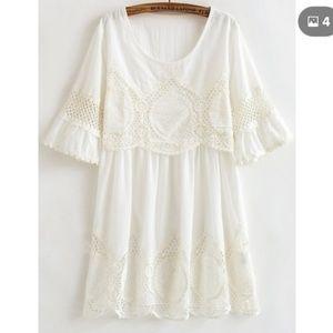 Plus size crochet dress NWT